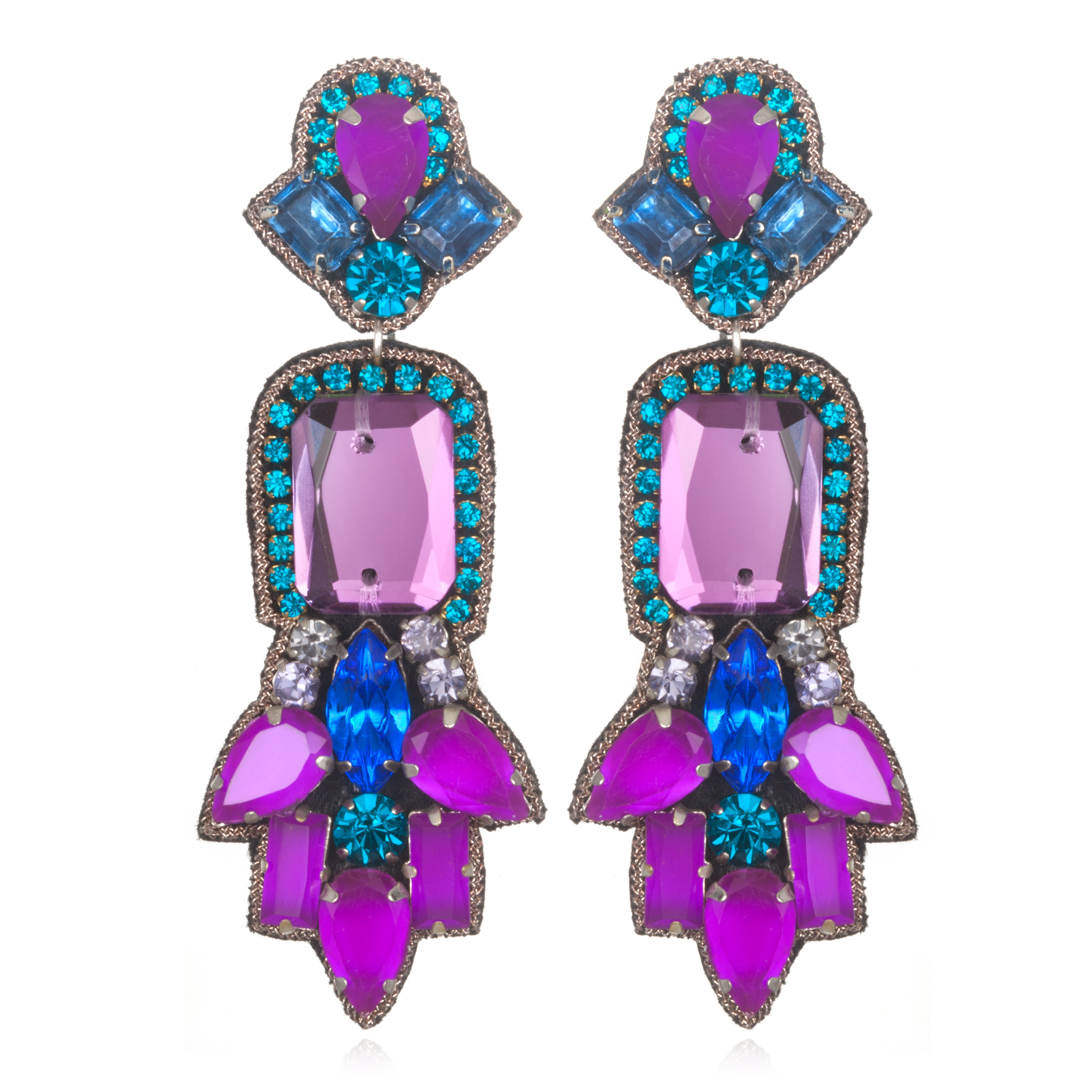 fireworks de 6 Pairs Of Opulent Statement Earrings To Glitz Up Any Outfit This Season