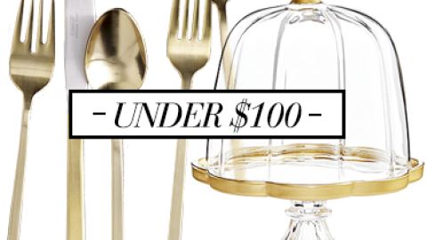 Our Favorite Gold Home Decor Accessories Under $100 | StyleCaster