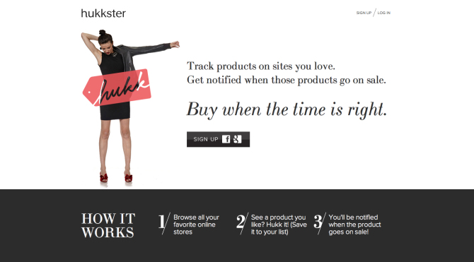 hukkster home page Accessible Chic: 6 Affordable Places to Shop Quality Clothes Online