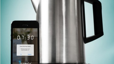 Stuff We Love: The iKettle Lets You Start Your Tea While You're Still In Bed | StyleCaster