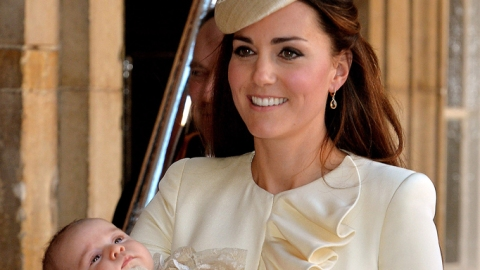 Kate Middleton Wears McQueen at Royal Baby's Christening | StyleCaster