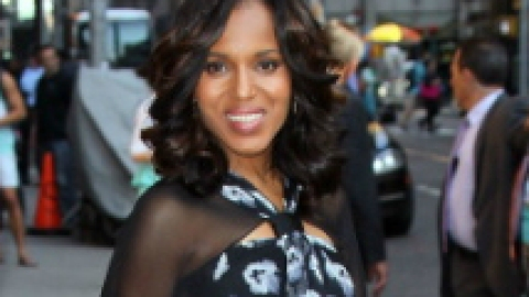 Kerry Washington Is About Four Months Pregnant: Report | StyleCaster