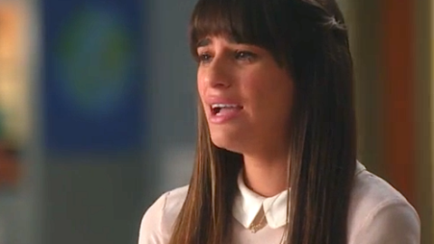 See What Everyone's Talking About: Watch Lea Michele's Heartbreaking Tribute to Cory Monteith on 'Glee' | StyleCaster