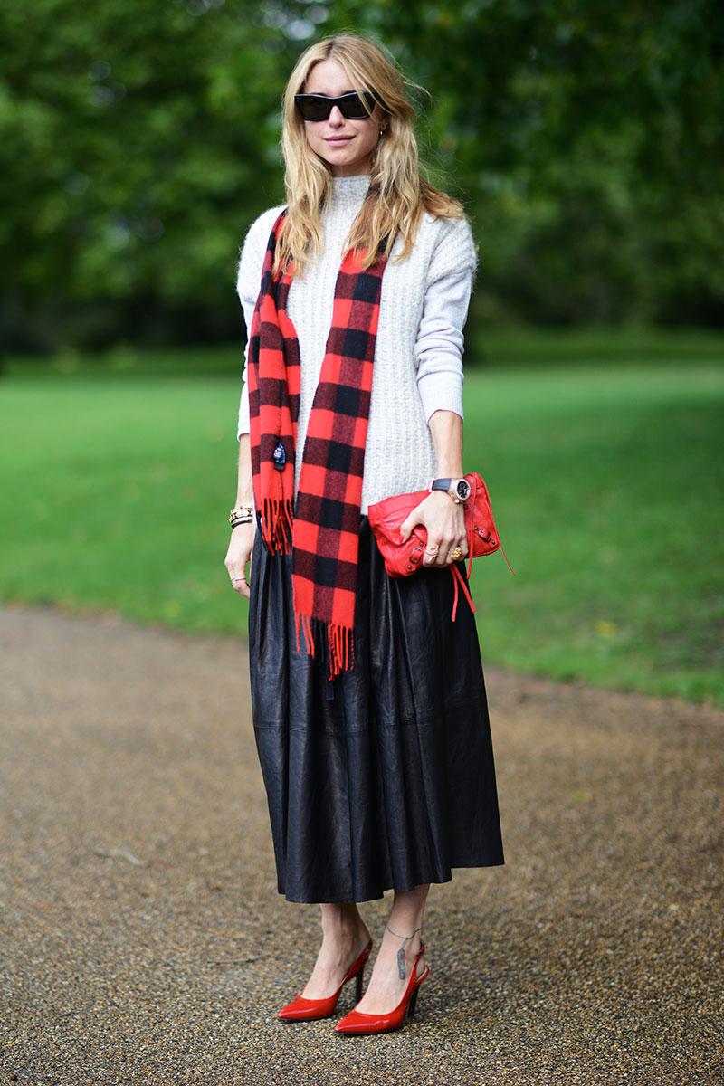 long shirt with full skirt elle mag