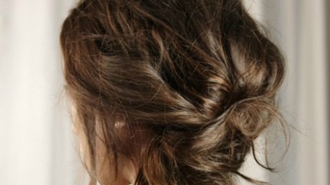 Party Hair Inspiration: 10 Gorgeous Messy Updos From Pinterest   StyleCaster