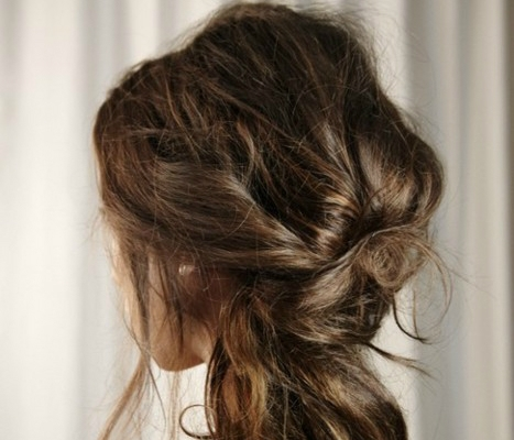 Party Hair Inspiration: 10 Gorgeous Messy Updos From Pinterest