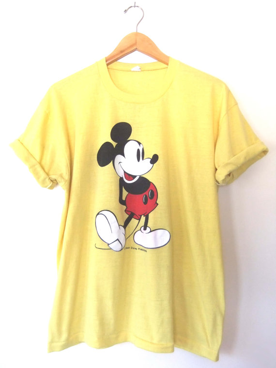 mickey tee How Fashion Stars Wear Mickey Mouse Tops