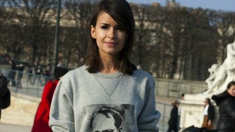 Steal Her Style: Miroslava Duma's Oswald Helgason Sweatshirt | StyleCaster