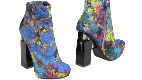 Want: A Fantasy Pair of Floral Nicholas Kirkwood Boots | StyleCaster