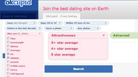 OkCupid Users Can Now Pay Extra To Exclude 'Unattractive' People From Searches | StyleCaster