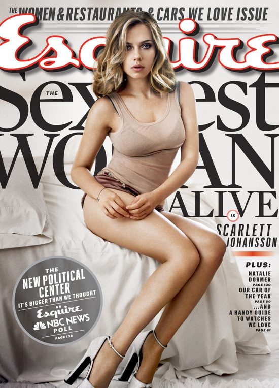 scarlett johansson esquire Scarlett Johansson Named Esquires Sexiest Woman Alive (Again)