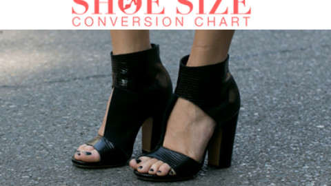 Shoe Size Conversion 101: Save This Chart and Never Order the Wrong Pair Again | StyleCaster