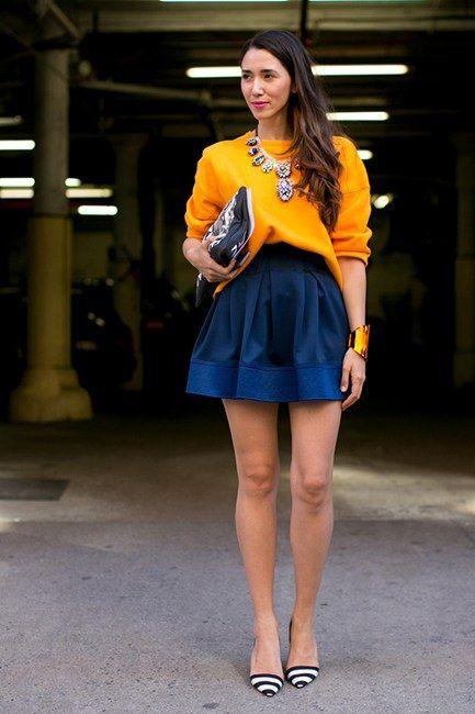 short full skirt style motivation