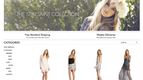 A Site to See: StyleSaint Offers High-End Fashion at Normal Prices | StyleCaster
