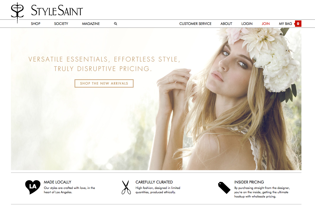 stylesaint A Site to See: StyleSaint Offers High End Fashion at Normal Prices