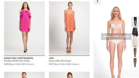 A Site to See: StyleWhile Lets You Try On Clothes (Using Your iPad!) | StyleCaster