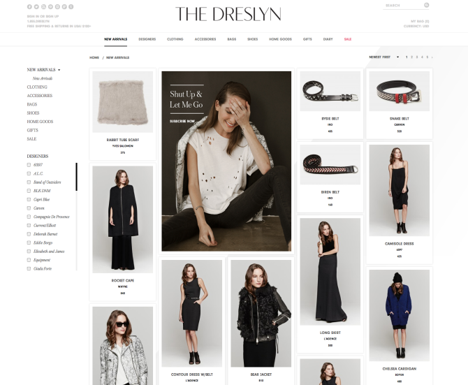 the dreslyn site Accessible Chic: 6 Affordable Places to Shop Quality Clothes Online