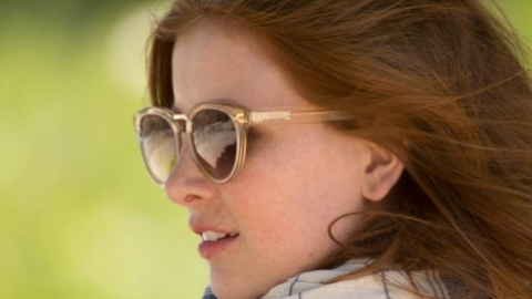 Want: A Pair of Champagne-Colored Sunglasses from TOMS | StyleCaster