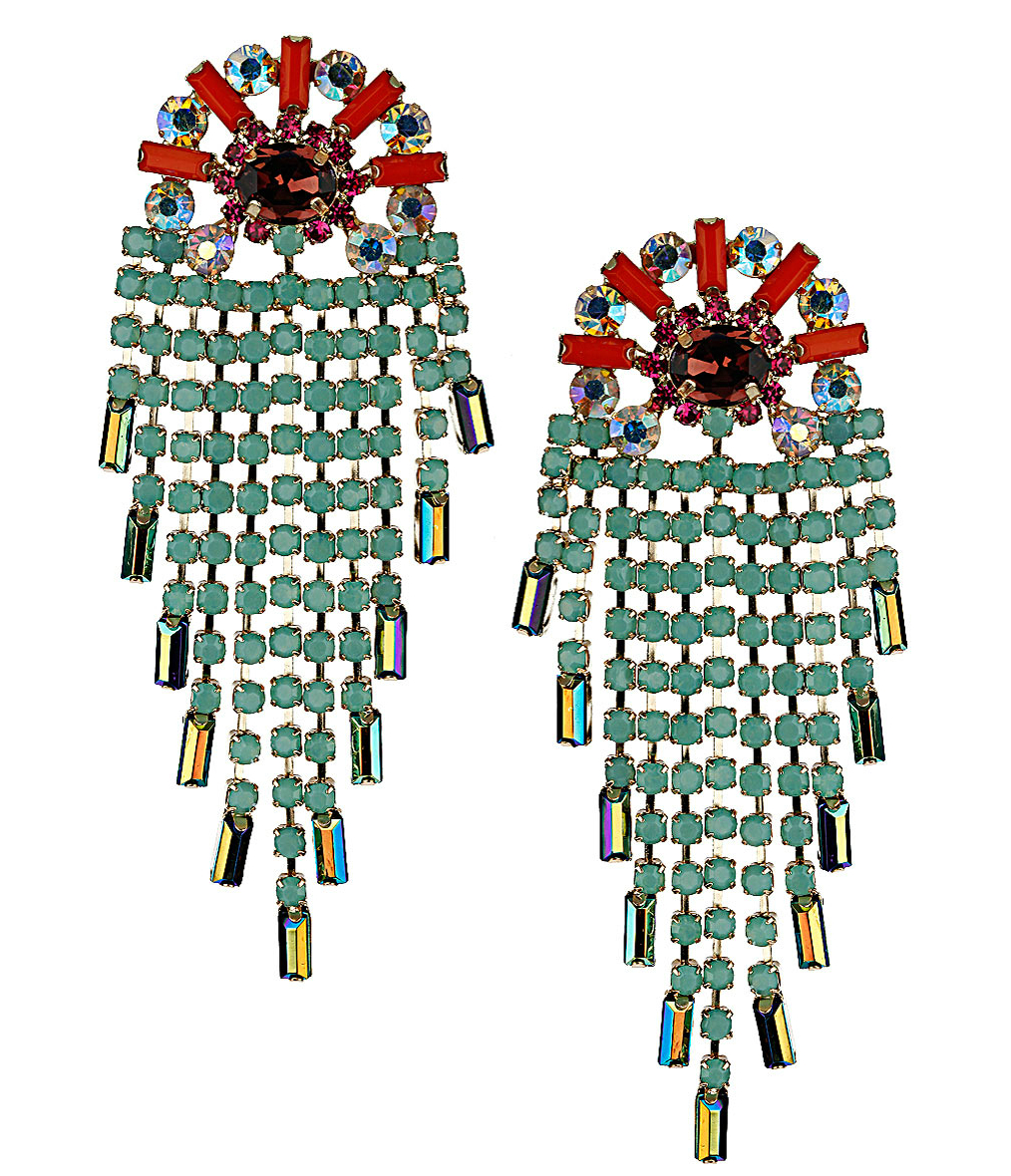 topshop earrings1 6 Pairs Of Opulent Statement Earrings To Glitz Up Any Outfit This Season