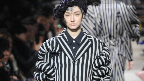 Trend Spotting: 'Beetlejuice' Stripes Are Having a Moment This Fall | StyleCaster