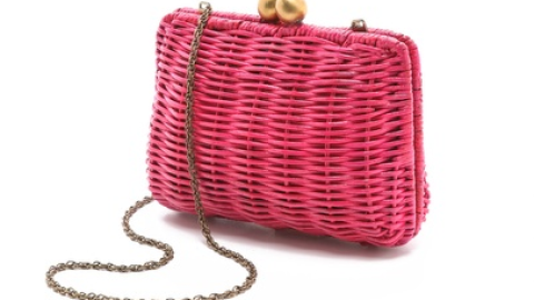 Want: An Adorable Wicker Clutch Perfect For a Leisurely Weekend Day | StyleCaster