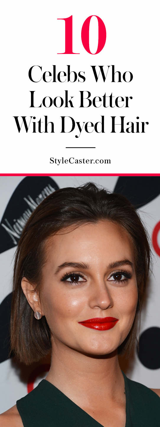 10 celebs who look better with dyed hair | @stylecaster