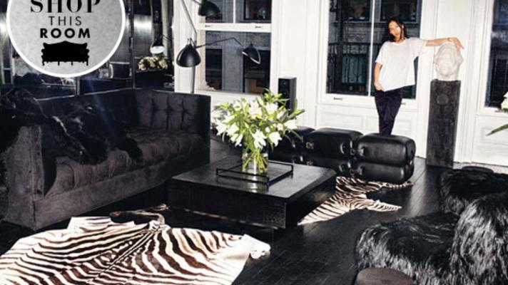 Shop This Room: Alexander Wang's Seriously Sexy Living Room