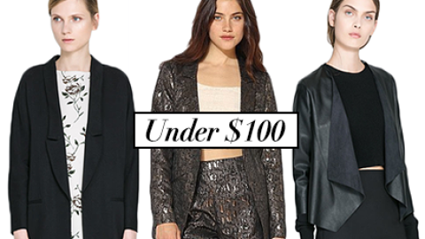 18 Sleek Blazers To Chic Up Any Winter Look (For Less Than $100) | StyleCaster