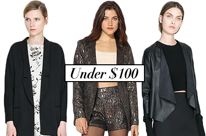 18 Sleek Blazers To Chic Up Any Winter Look (For Less Than $100)