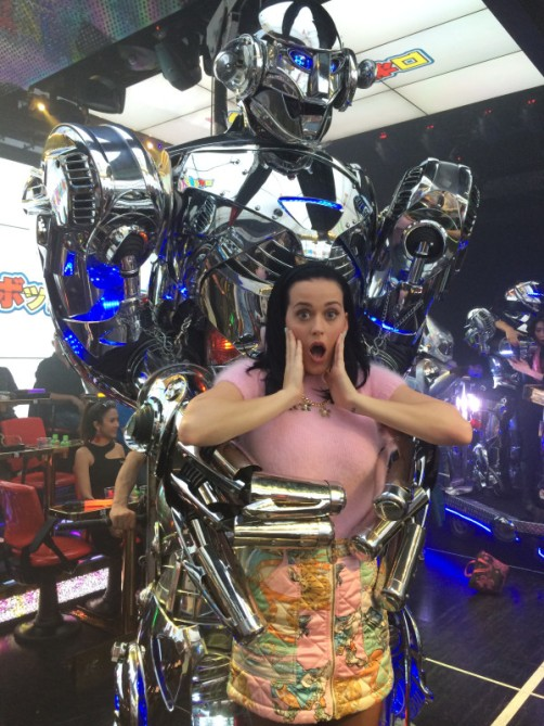 Katy Perry's Twitter photo from Tokyo