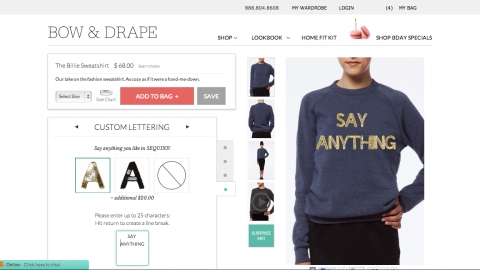 Customize Your Own Chic Clothing With New Site Bow & Drape | StyleCaster