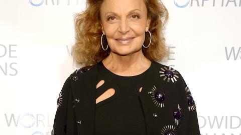 Diane von Furstenberg on Self-Confidence: 'I Like Myself a Lot' | StyleCaster