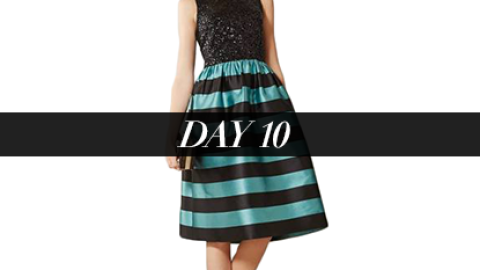 Day 10: The Perfect Party Dress | StyleCaster