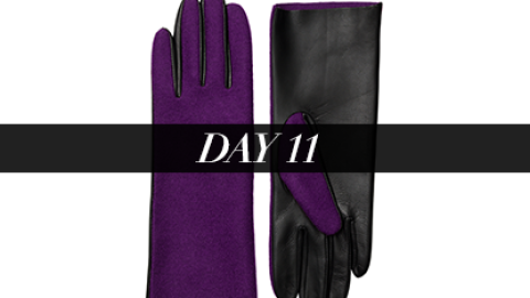 Day 11: Stylish Touchscreen Gloves | StyleCaster