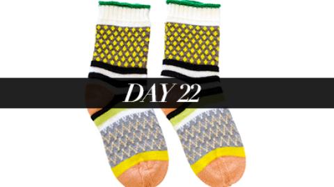 Day 22: Statement Socks | StyleCaster