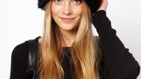 Want: An Oversized Faux Fur Hat With Ears (For Less Than $50!) | StyleCaster
