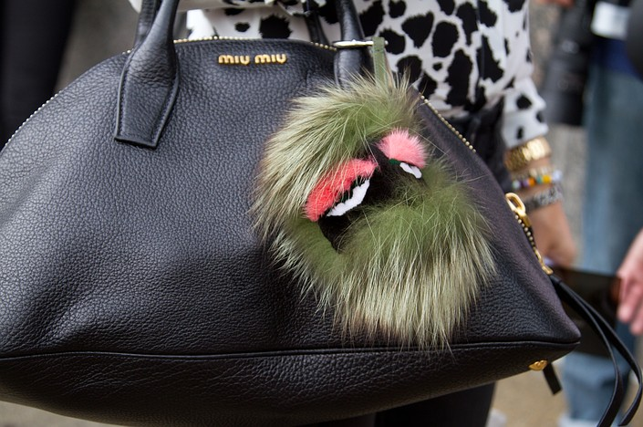 the fur fendi bag monster charms are over $700.
