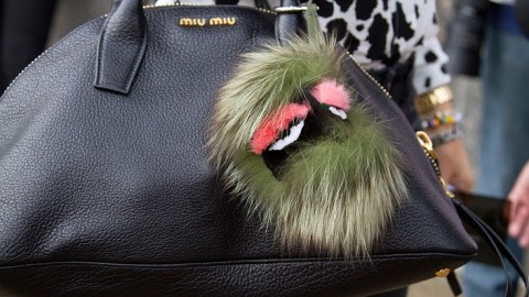 A New Extravagant Trend: Fendi's $700 Fur Buggies That Hang From Your Bag | StyleCaster