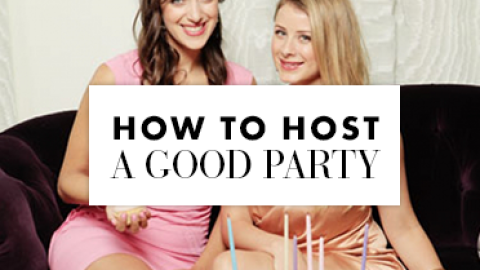 How To Host a Good Party: Paul Sevigny, Lo Bosworth, and More Share Tips   StyleCaster