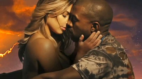 Kanye West's New Video Features Kim Kardashian (And She's Topless) | StyleCaster
