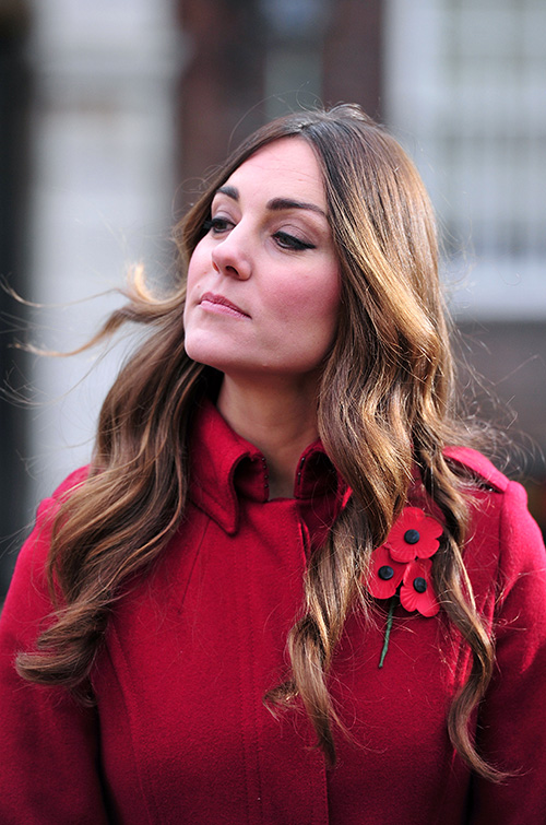 kate middleton gray hair Links to Click: Kate Middleton Shows Her Gray Hair, Rihanna Sips From a Stiletto, More