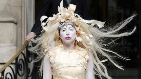 See Every Insane Outfit Worn By Lady Gaga During Her Grand Tour of Europe   StyleCaster