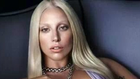 Lady Gaga Looks Just Like Donatella in New Versace Ads | StyleCaster
