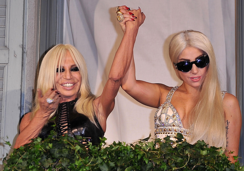 Lady Gaga Sightings In Milan - October 1, 2012