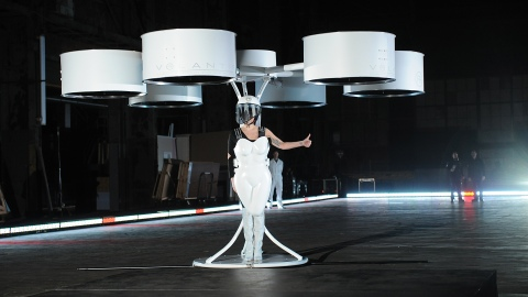 Lady Gaga Debuted a Flying Dress at Her Album Release Party (Of Course She Did) | StyleCaster