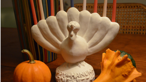 Meet the Menurkey: A Turkey-Shaped Menorah Just in Time For Thanksgivukkah   StyleCaster