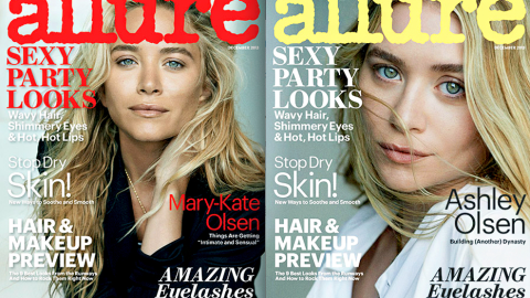 Magazine Cover Face-Off: Which Olsen Twin Looks Better on <em>Allure</em>? | StyleCaster