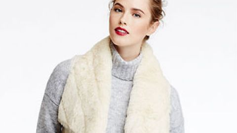 Want: A Cozy White Faux-Shearling Vest for Less Than $60 | StyleCaster