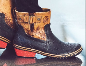Coolest Pair of Sorel Duck Boots