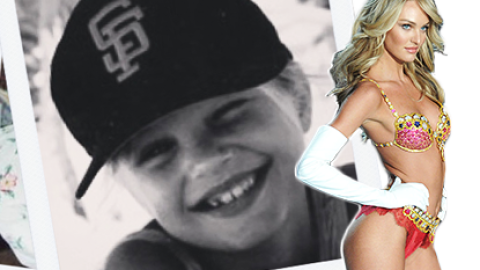 #ThrowbackThursday: See Victoria's Secret Hottie Candice Swanepoel as a Little Kid | StyleCaster